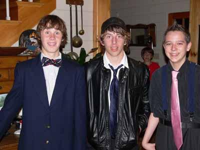 Joshua, V innie, Kyle w/Eli