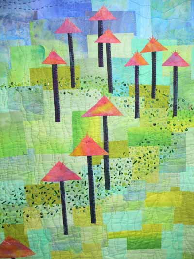 Kathy's quilt, detail