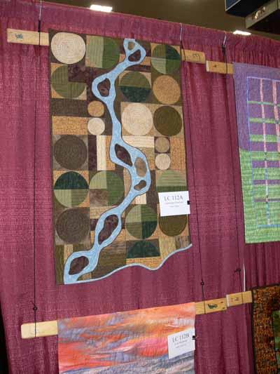Anne Walker's sense of place quilt