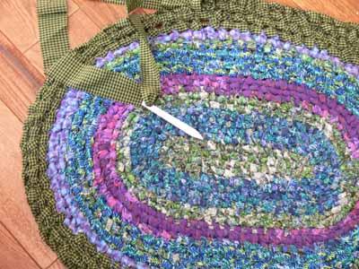 Kate's rag rug