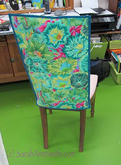 Chair, Improved with color and cloth!