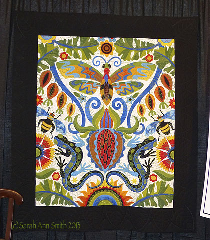 Jane Sassaman's top prize-winning quilt