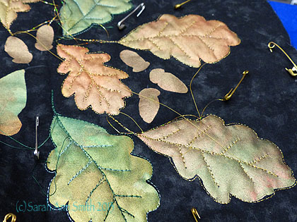 Oak leaves are popular, too, and easy to draw!