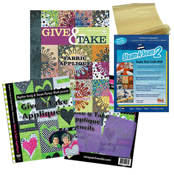 Daphne's Give and Take bundle with the book, DVD and supplies!
