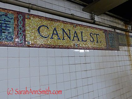 Canal St Station, which is apparently near Chinatown
