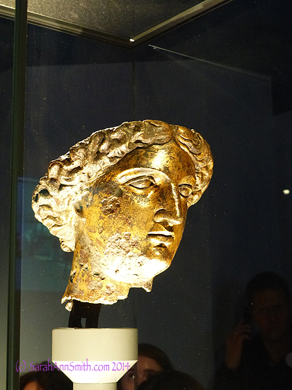 Minerva Sulis, from the Roman Baths in Bath, England