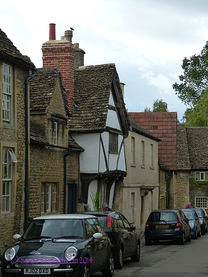 And one more typical street in Lacock.