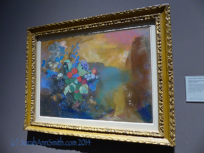 An Odilon Redon...look at that seductive color.