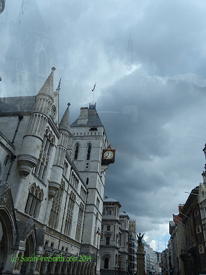 Here's the fairy-tale-like building to which the clock is attached:.