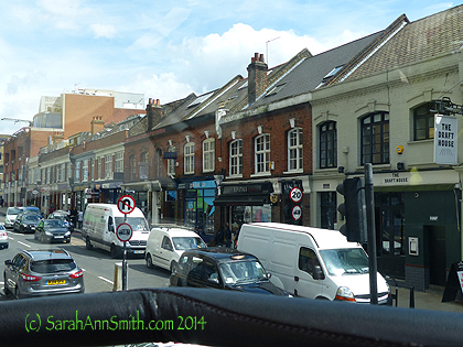A neighborhood (Belgravia or Chelsea I think) in London