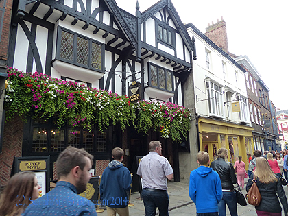 Wandering about the pedestrian zone of old York.  This city is absolutely stunning, picturesque, loaded with history, and not a hustle-bustle kind of frenetic place but one where you can walk, savor, enjoy.