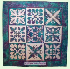 Nourish the Body, Nourish the Soul, in the 500 Traditional Quilts exhibit. (c) Sarah Ann Smith.
