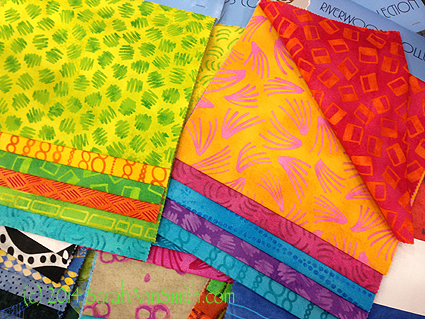 The fabric samples.  Yes, I'll take a yard of each!