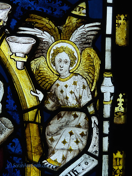 And another angel for Marie Z. from said window.