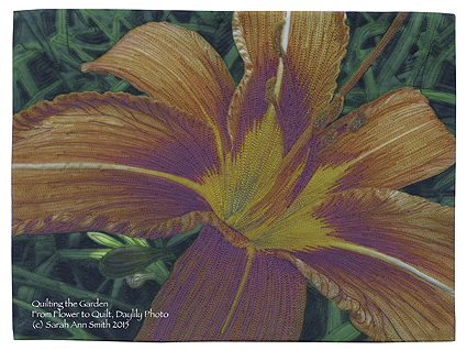 Quilted DayLily.