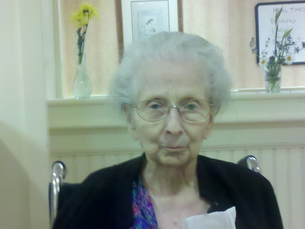 My last photo of mother, taken a week before she died, and the last time I saw her sitting up.  Mama, I hope you are with Daddy, Charlie and Tom J., comfortable, memory intact and happy.   I'll see you all one of these years (but I hope not TOO soon--I still have my sons and husband).