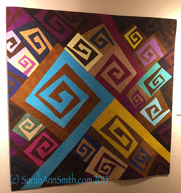 is made by  and has wonderful quilting.