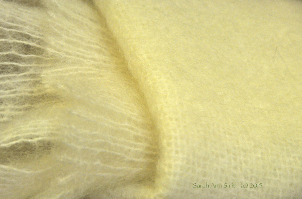 Mohair throw in the Lavender Store