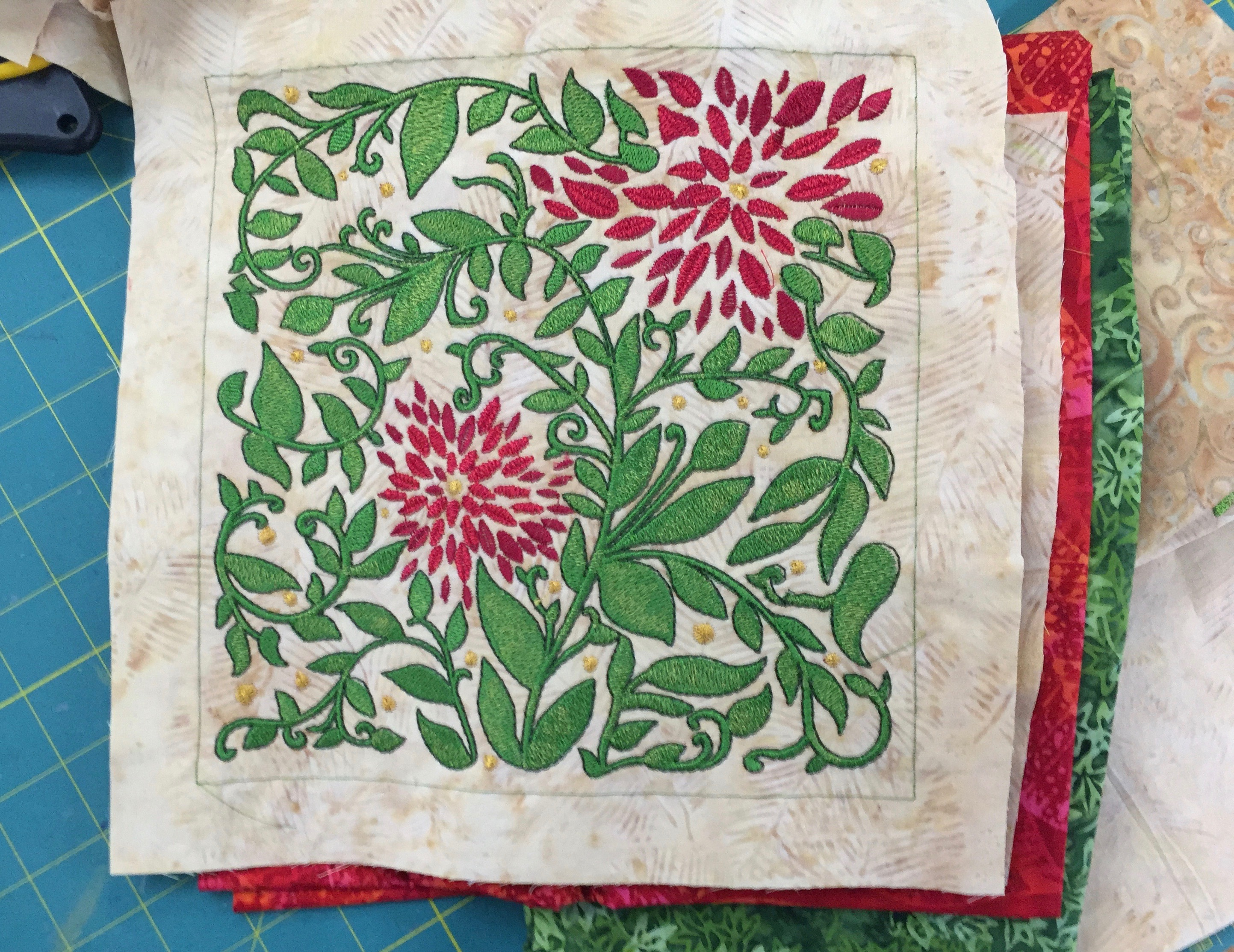 Janome Quilting Embroidery Designs : Art and Quilting in Camden and Hope Blog Archive Lonni Rossi Embroidery design!