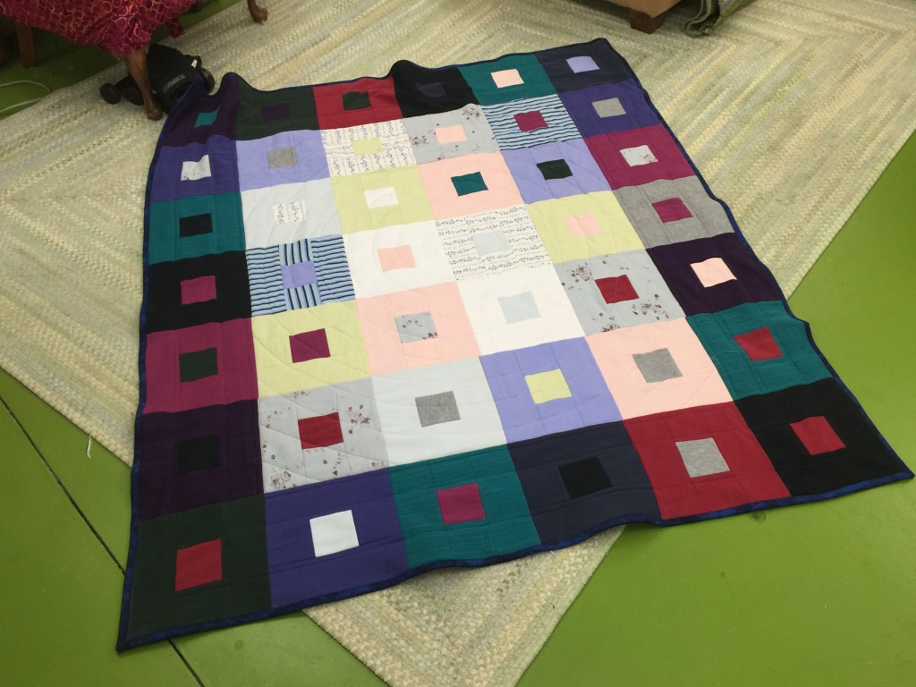 A snuggle quilt