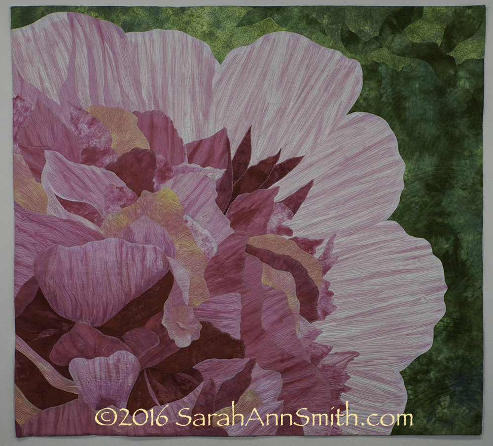My most recent project, Peony, done on the Sweet 16. ©SarahAnnSmith.com