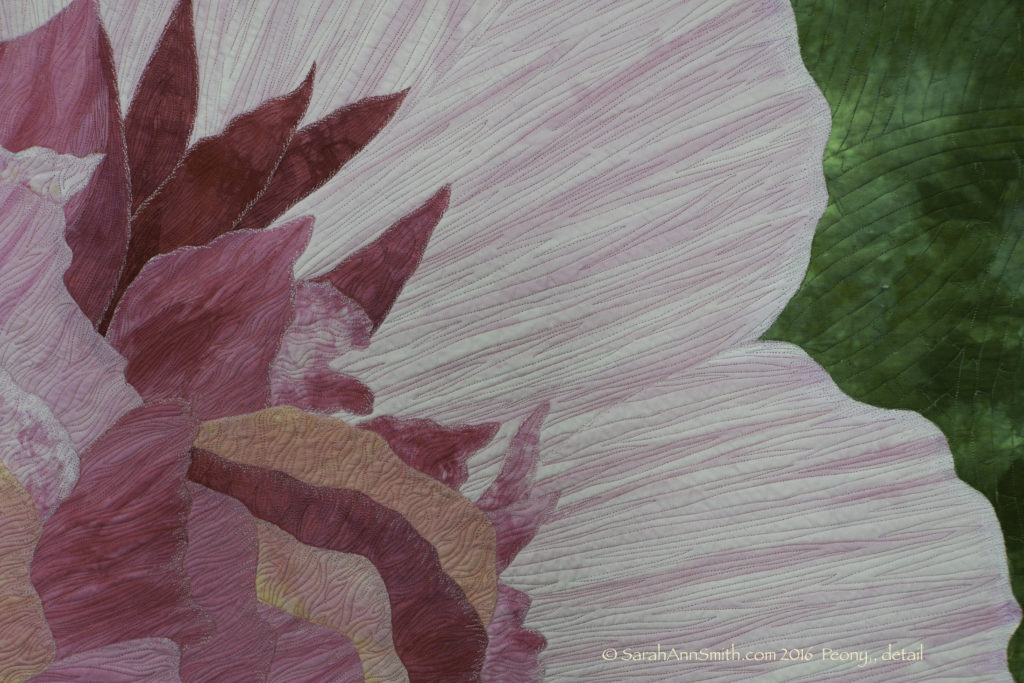 Detail, Peony. I think I need to take more and better detail shots!