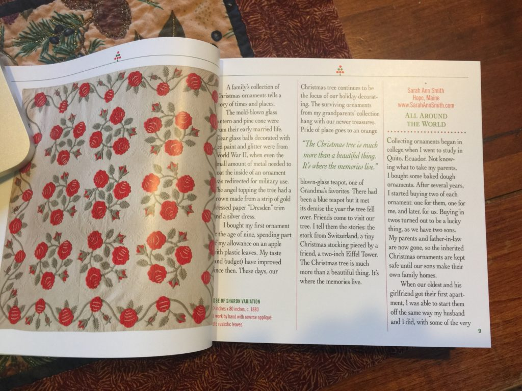 heres the start of my memory about collecting ornaments from around the world first as gifts for my parents then as an annual tradition - Christmas Memories Book