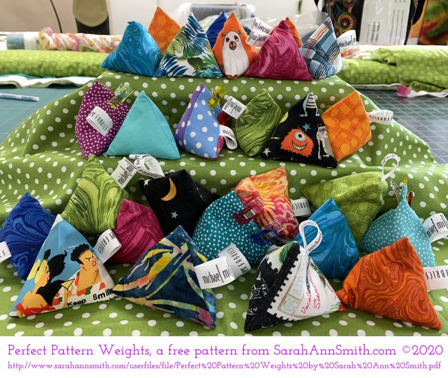 PerfectPatternWeights by SarahAnnSmith.com